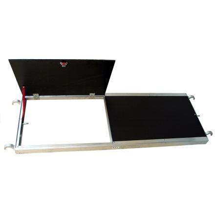 Plattform Jumbo med lucka 250x60cm