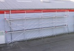 Fasadställning ALU Jumbo Superflex 6 x 9m