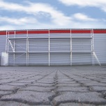 Fasadställning ALU Jumbo Superflex 6 x 18m
