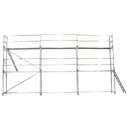 Fasadställning ALU Jumbo Superflex 8 x 6m