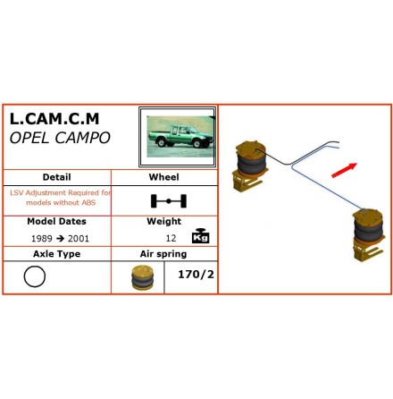 Opel Campo 89-01